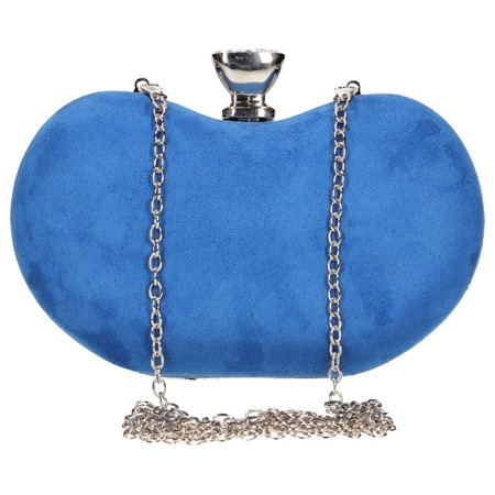 Torebka wizytowa szafirowa niebieska